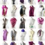 Como amarrar lenços e cachecóis?
