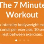 Sem tempo para malhar? Aplicativo deixa o corpo em forma em apenas sete minutos