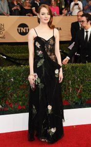 Emma Stone - Alexander McQueen