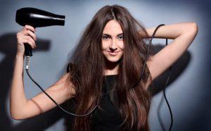 Secando-cabelo