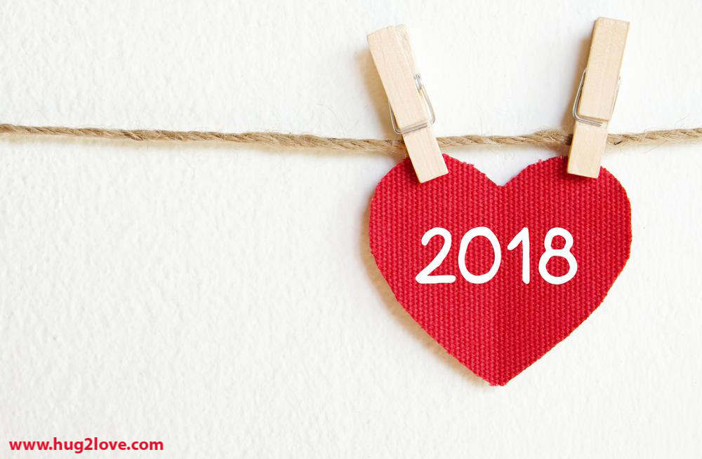 Cute-lovely-New-Year-2018-wallpaper-red-heart