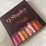 Testei: Paleta de sombras 9 Shades – Mariana Saad para Océane