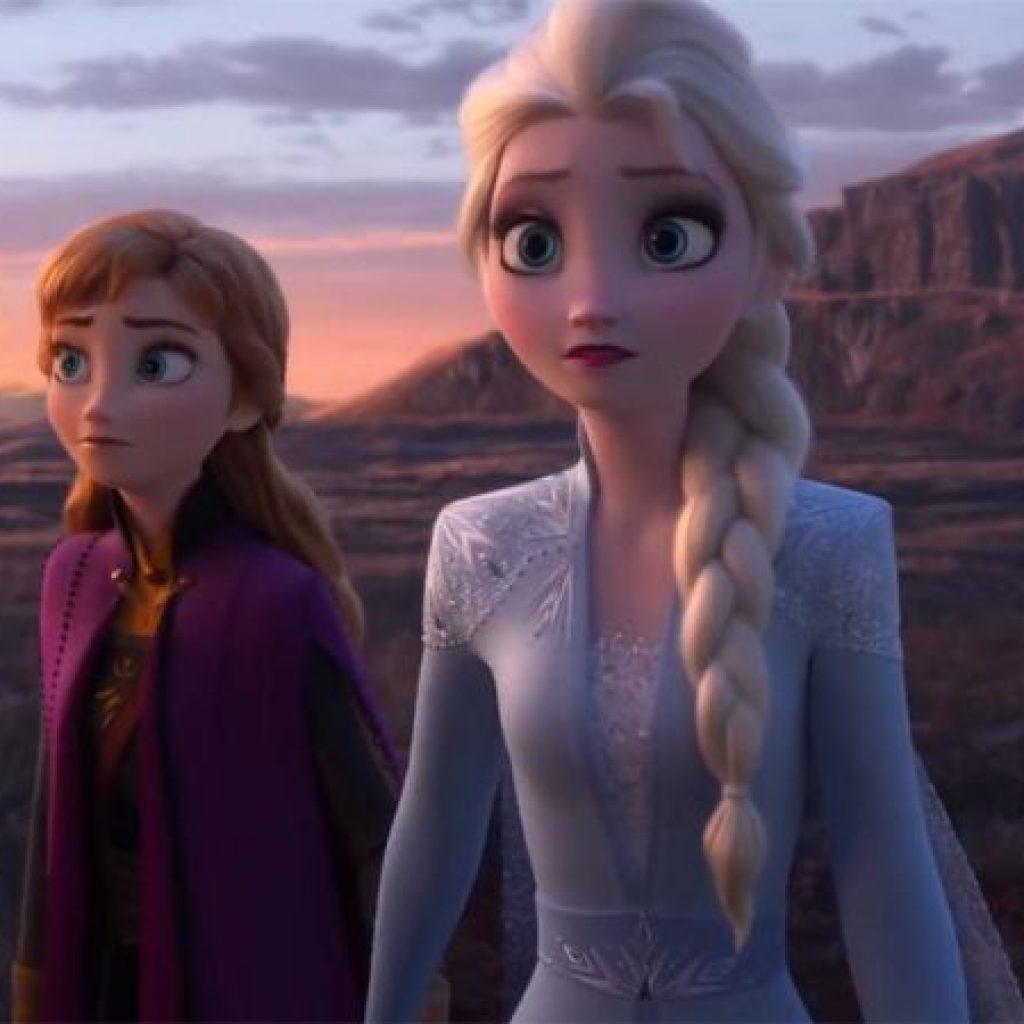 A imagem mostra uma cena de Frozen II, um dos filmes mais aguardados de 2020